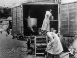 World War I  YMCA Mobile Kitchen on the Edge of the St Mihiel Salient in France  1918
