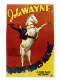 Randy Rides Alone  John Wayne  1934