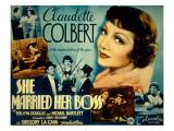 She Married Her Boss  Claudette Colbert  Melvyn Douglas  Michael Bartlett  1935