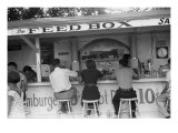 The Feed Box  Scene at Buckeye Lake Amusement Park