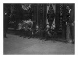 ADT Boys 'They All Smokes' Birmingham  Alabama  November  1910