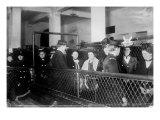 Immigration Female European Immigrants Being Processed at Ellis Island  1907