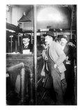 Immigration Male European Immigrants Arriving at Ellis Island  1907