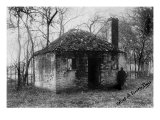 Slavery  Slave Quarters at the Hermitage Plantation Outside of Savannah  Georgia  1900