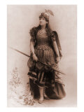 Actress Dressed as Wagnerian Heroine  Brunhilde 1898