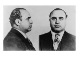 Al Capone  Prohibition Era Gangster Boss in 1931 Mug Shot