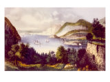 The Hudson River as Viewed from Fort Putnam in West Point  New York