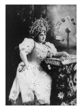 Lillian Russell  American Actress  in Role of a Gypsy Fortune Teller  1895