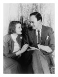 Roald Dahl  British Author with His Wife  Actress Patricia Neal in 1954