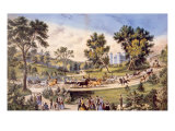 Central Park  the Grand Drive  1869