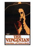 "1903 Theatrical Production of Owen Wister's Western Novel  ""The Virginian"" by Kirke La Shelle's"