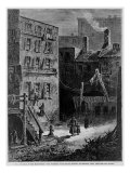 Homeless Poor in Donovan Lane  Near the Five Points Slum Neighborhood in New York City  1872