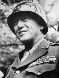 General George S Patton Jr  During the Early Stages of the Invasion of Normandy  France  1944
