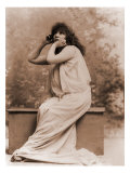 Sarah Bernhardt  French Actress in Greek Costume  1896