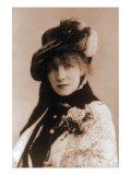 Sarah Bernhardt  French Actress  1880