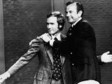 Dick Cavett  and Jack Paar  1972