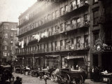 Little Italy  a Row of Tenements on Elizabeth St  New York  1912
