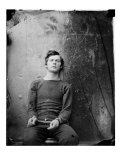 Assasin Lewis Payne  in Sweater  Seated and Manacled  April 1865