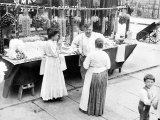 Little Italy  Vendor with Wares Displayed During a Festival  New York  1930s