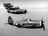 Republic P-47 Thunderbolts  1943