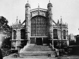 St George's Chapel  Windsor Castle  England  1930s