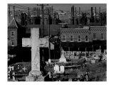 Bethlehem Graveyard and Steel Mill  Pennsylvania  November  1935