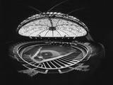 Fish Eye View of the Astrodome  Houston  Texas  1965