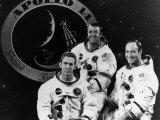 The Crew of Apollo 14: Stuart Roosa  Alan Shepard  Edgar Mitchell  1971