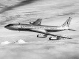 American Airline's Boeing Astrojet in Flight  1964