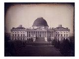 United States Capitol Building  Washington DC  1846
