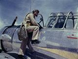 World War II  Cadet L Deitz  at the Naval Air Base  Corpus Christi  Texas  August  1942