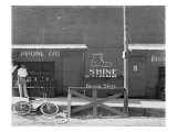 Shoeshine Stand  Southeastern US