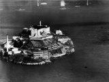 Alcatraz Island  San Francisco  While a Prison  1940s
