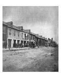 The Civil War  Sanitary Commission at Fredericksburg  Virginia  May  1864