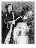 Zora Neale Hurston  African American Author and Folklorist  Beating the Hountar  or Mama Drum  1937