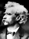 American Writer Mark Twain  1900