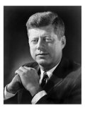 President John F Kennedy in a 1961 Portrait