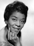 American Blues  Jazz  and R&B Singer Dinah Washington  1963