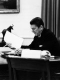 President  Ronald Reagan  April  1981