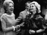 First Lady Patricia Nixon with Zsa Zsa Gabor  in California  1972