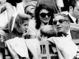 Caroline Kennedy  John F Kennedy Jr  Jacqueline and Aristotle Onassis Watch World Series  1969