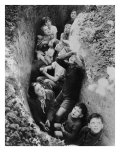 Children in an English Bomb Shelter During the German Bombing of British Cities in 1940-41