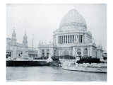 Administration Building at the World's Columbian Exposition  Chicago  on Opening Day  May 1  1893