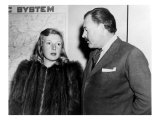 Ernest Hemingway and Journalist Martha Gellhorn  Traveling Together Shortly after their Wedding