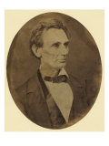 Abraham Lincoln Portrait Shortly after His Nomination as Republican Presidential Candidate