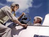 Pilot Training at the Naval Air Base  Corpus Christi  Texas  1942