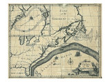 1786 Chart of the Gulf Stream in the Atlantic Ocean