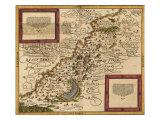 1588 Map of Palestine by Sebastian Munster