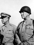 General Dwight Eisenhower  General George Patton  1940's