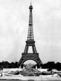 Eiffel Tower  Paris France  1964